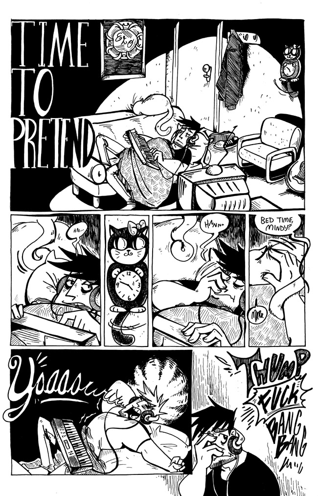 Time To Pretend page 01