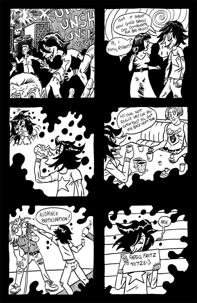 Guest comic by Garth Goya
